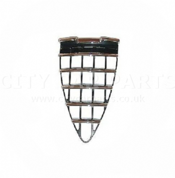 Alfa Romeo 147 2001-2005 Front Main Grille Black With Chrome High Quality New